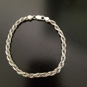 Unisex Sterling Silver 925 bracelet